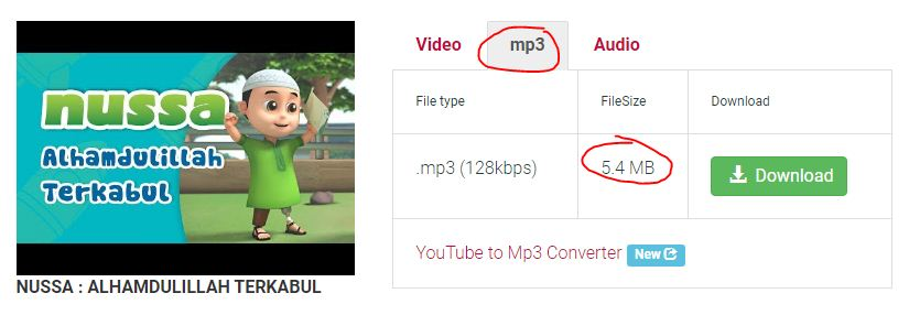 cara mudah download mp3 dari youtube