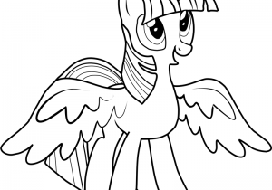 Twilight-Sparkle-Coloring-Pages